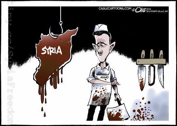 DC-Syria-Assad-Cartoon-Butcher-of-Syria