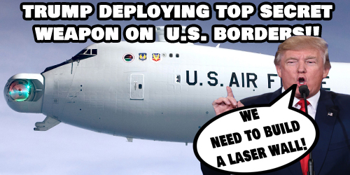 illegal alien trump deploying secret weapon maga kag build the wall.jpg
