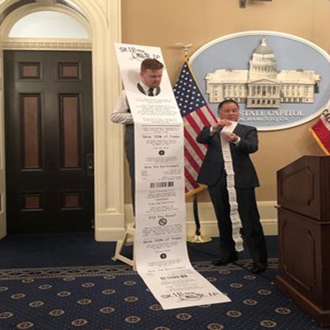 phil ting paper receipts california totally insane idiot retard libtard sjw activist climate change.jpg