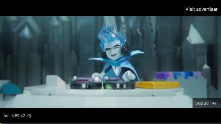 lego movie 2 5 hour advertisement